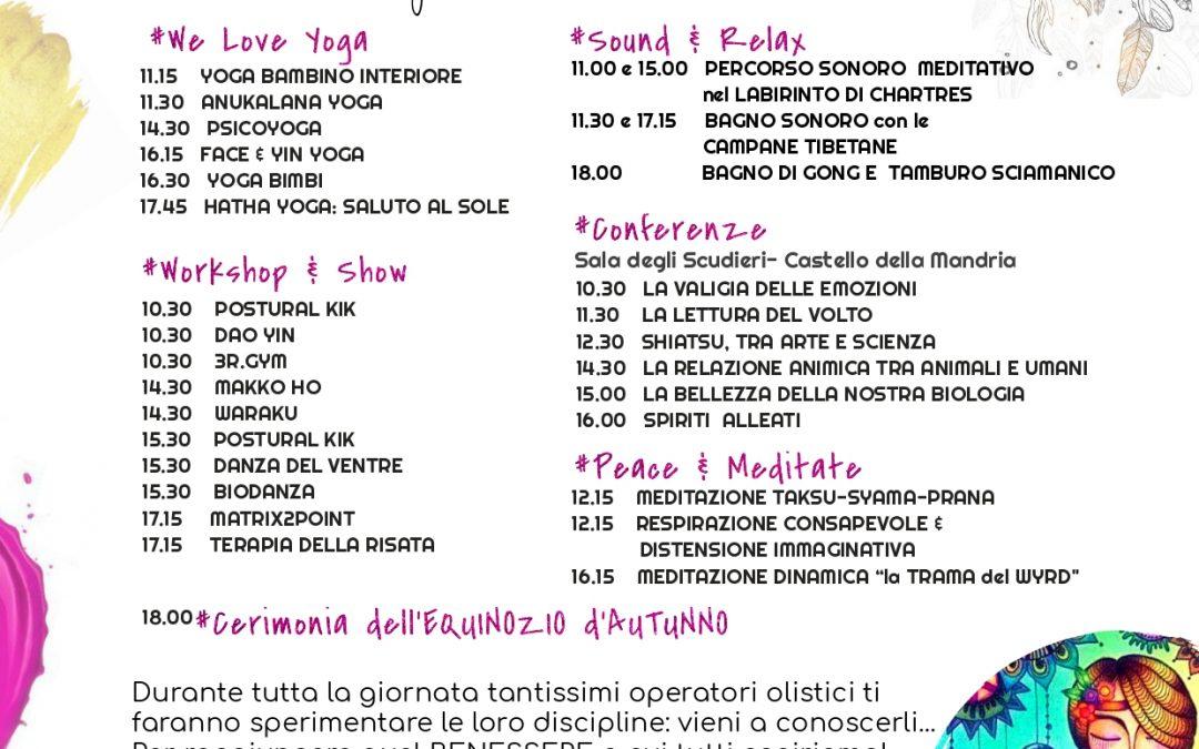 Festival Olistico Venaria Reale – 2a edizione
