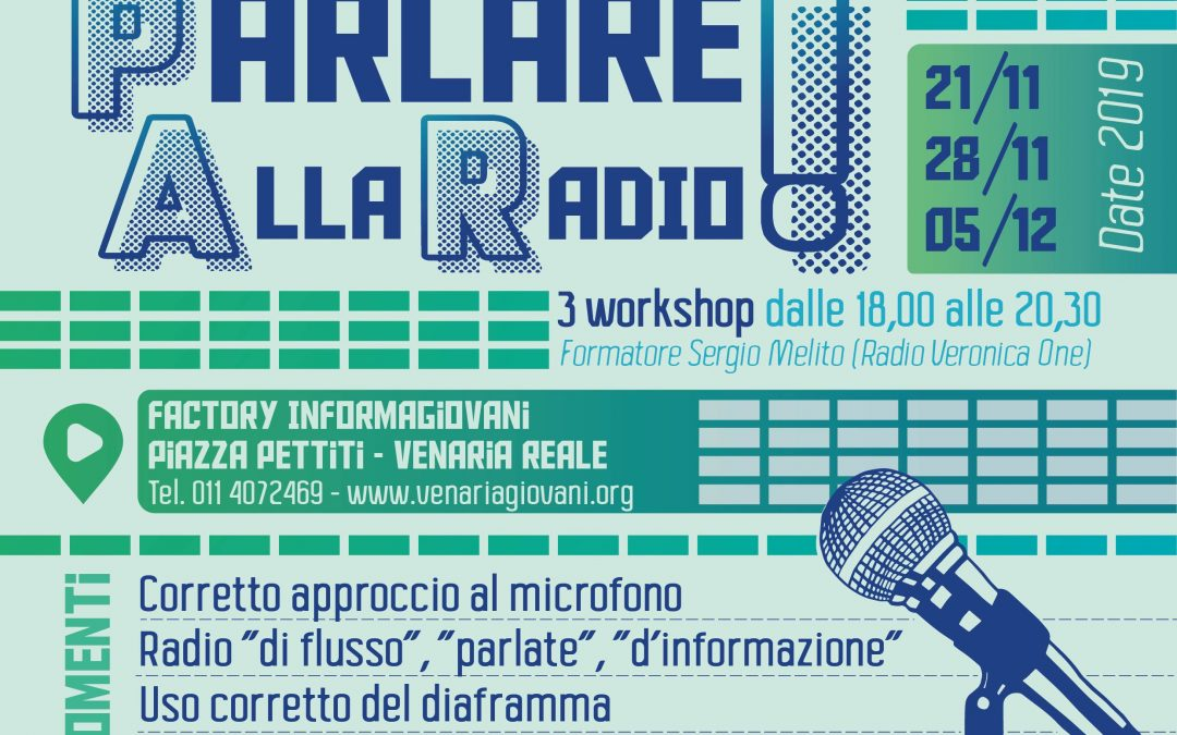 """""""Parlare alla radio"""". Corso di dizione per un uso corretto della voce"""