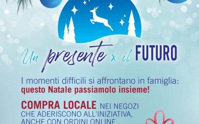 """Un Presente x il Futuro: il """"regalo sospeso""""."""