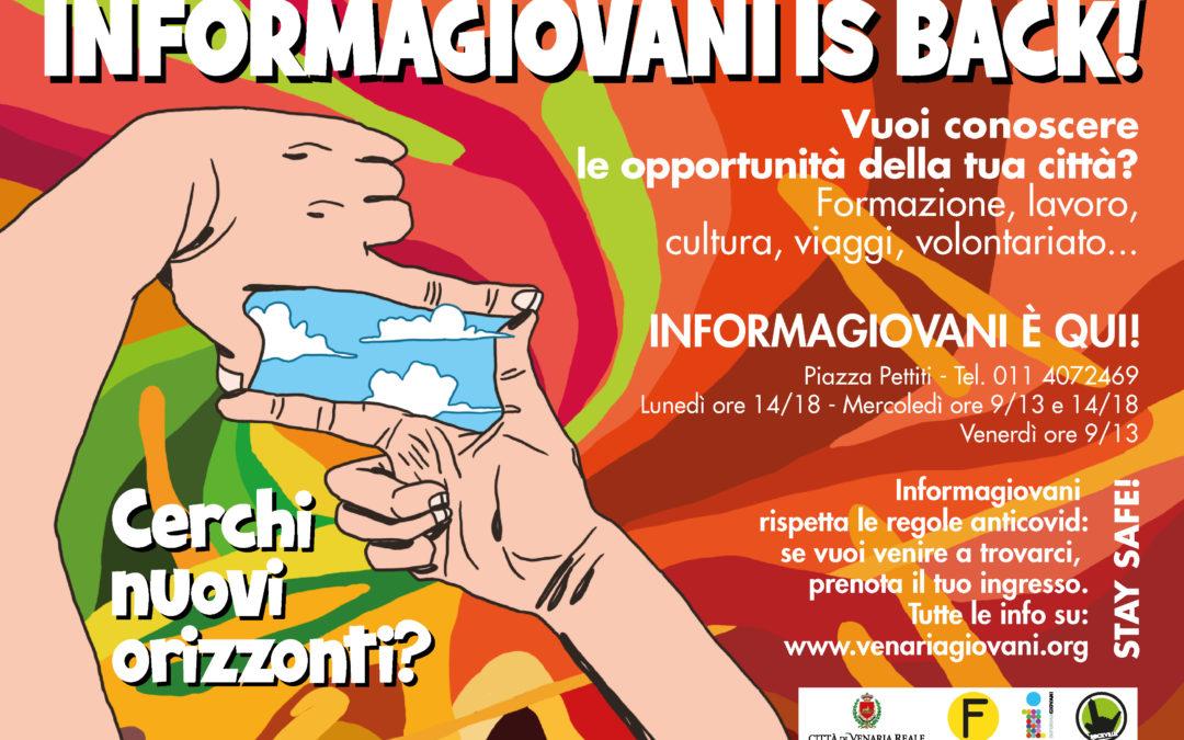 """Informagiovani e centro Giovani """"La Villetta"""": modalità di accesso ai servizi"""
